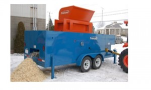 Tremzac Shaving machine used to test viability of local bedding production