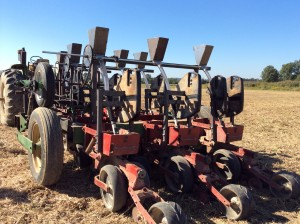 completed precision cover crop planter