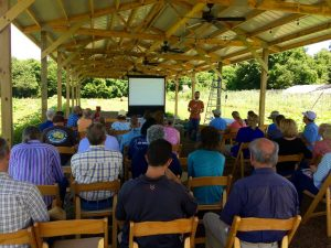 Mark Dempsey speaks about cover crops