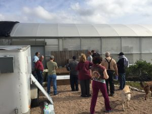 workshop at Sustainable Harvesters
