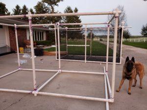 PVC Frame for Cage
