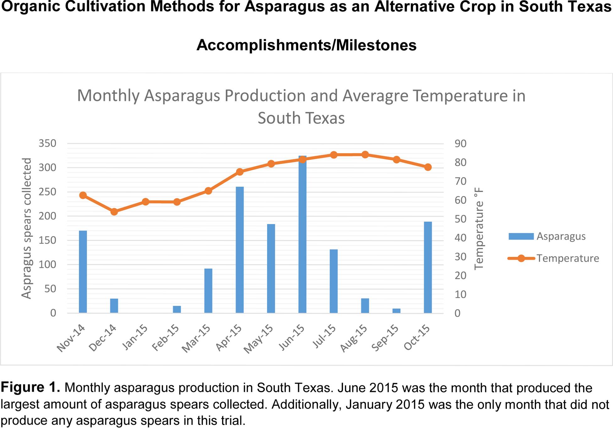 Figure 1 SARE annual report 2016 Asparagus