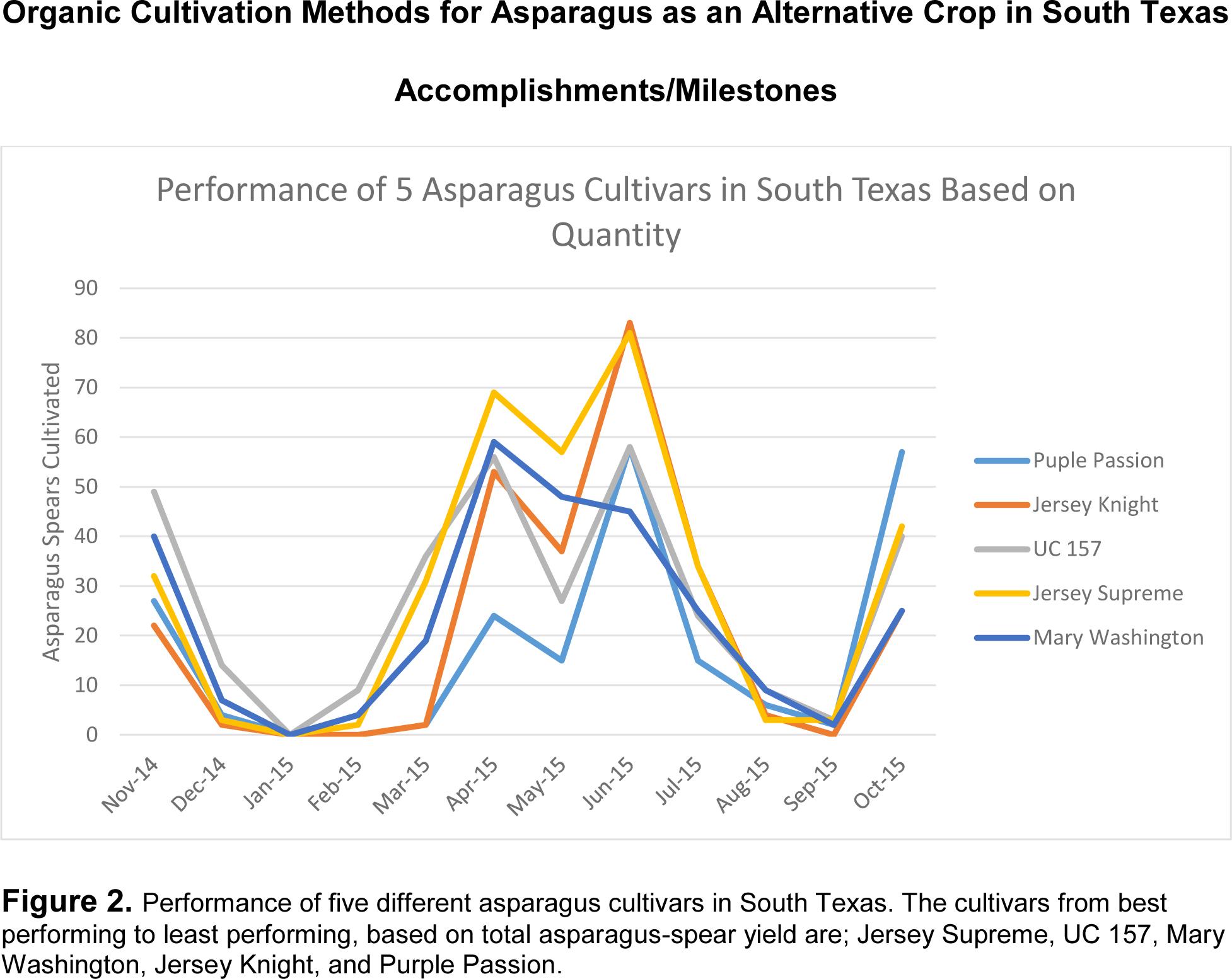 Figure 2 SARE annual report 2016 Asparagus
