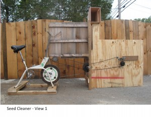 3.fanning mill prototype