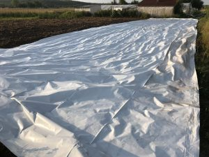 Tarp used for occulation