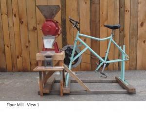 7.flour mill with bike PTO
