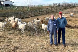 Caleb Pirc and Dave Scott at the Good Shepherd Farm Workshop, Meridian, Idaho.