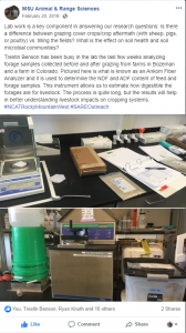 Facebook Post project lab work