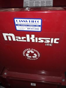 Name decal of hammer mill