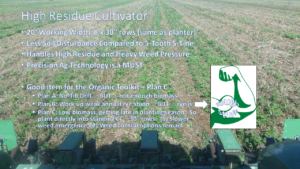 High Residue Cultivator