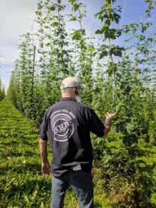 Brewer field visit