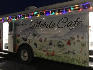 HCPS Mobile Cafe is used to improve access to school nutrition programs.
