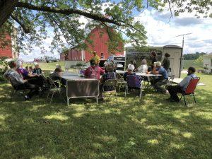 On farm meetings