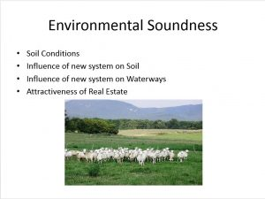 Environmental Soundness. Principles of sustainability are profoundly important for the operators of Manzini Farm. This ethic is embedded in their family relationships and off-farm professions as educators and counselors. Environmentalism runs through every decision and action the farm takes, and serves as backstop or touchstone when making decisions in uncertain environments.