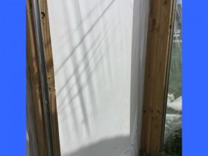 zippered doorway