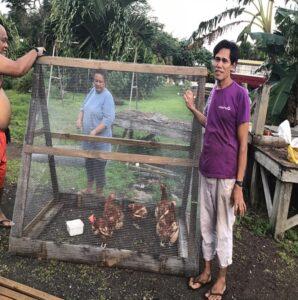 Lopati Lopeti chicken tractor