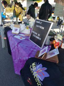 farmers market saffron demo